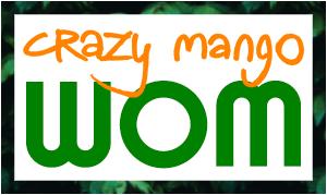 crazy mango WOM logo